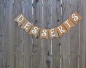 Desserts Banner