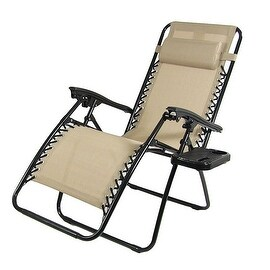 Caravan Canopy Beige Zero Gravity Chairs Pack Of Two