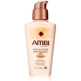 Ambi Skin Care Even & Clear Daily Moisturizer SPF 30 3 oz
