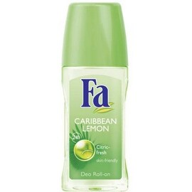 FA Hour Roll-On Deodorant, Caribbean Lemon 1.7 oz