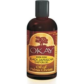 Okay 100% Pure Black Jamaican Castor Oil, 4 oz