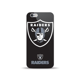 IPHONE 6 NFL OVERSIZED SNAP BACK TPU CASE OAKLAND RAIDERS