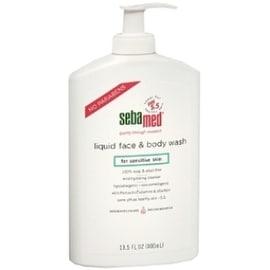 Sebamed Liquid Face & Body Wash for Sensitive Skin 13.50 oz
