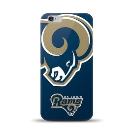 IPHONE 6 PLUS NFL OVERSIZED SNAP BACK TPU CASE ST. LOUIS RAMS