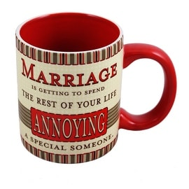 Love and Marriage Mug by Russ Berrie