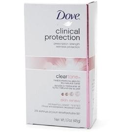 Dove Clinical Protection Clear Tone Antiperspirant & Deodorant, Skin Renew 1.7 oz