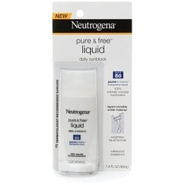 Neutrogena Pure & Free Liquid Daily Sunblock SPF 50 1.40 oz