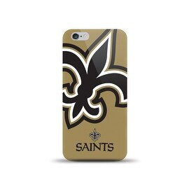 IPHONE 6 NFL OVERSIZED SNAP BACK TPU CASE NEW ORLEANS SAINTS