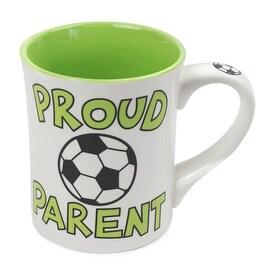 Proud Parent Soccer Mug