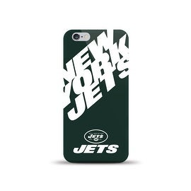 IPHONE 6 NFL OVERSIZED SNAP BACK TPU CASE NEW YORK JETS