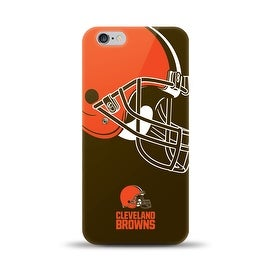 IPHONE 6 PLUS NFL OVERSIZED SNAP BACK TPU CASE CLEVELAND BROWNS