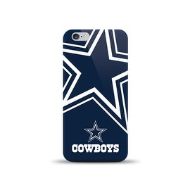 IPHONE 6 NFL OVERSIZED SNAP BACK TPU CASE DALLAS COWBOYS