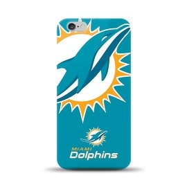 IPHONE 6 PLUS NFL OVERSIZED SNAP BACK TPU CASE MIAMI DOLPHINS
