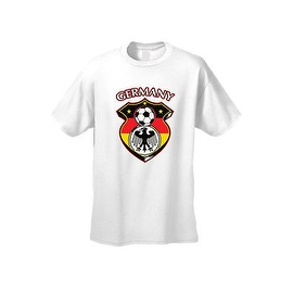 MEN'S SPORTS T-SHIRT Germany Soccer Team FLAG TEE FUTBOL FOOTBALL S-5XL TOP