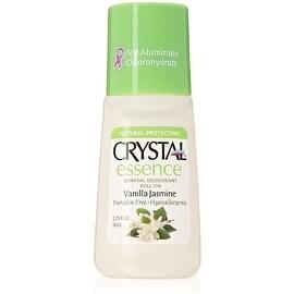 Crystal Essence Mineral Deodorant Roll-On, Vanilla Jasmine 2.25 oz