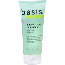 Basis Face Wash Cleaner Clean 6 oz