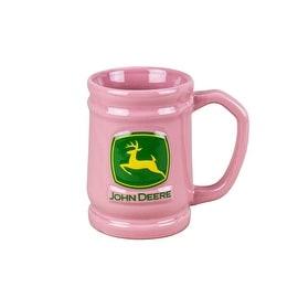 Russ Berrie Pink John Deere Mug 11oz
