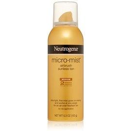 Neutrogena Micro-Mist Airbrush Sunless Tan Spray Medium 5.30 oz