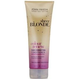 John Frieda sheer blonde Color Renew Tone Restoring Conditioner 8.45 oz