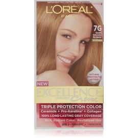 L'Oreal Paris Excellence Creme Haircolor Dark Golden Blonde [7G] (Warmer)