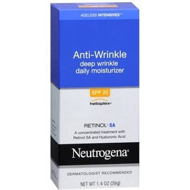 Neutrogena Ageless Intensives Anti-Wrinkle Deep Wrinkle Daily Moisturizer SPF 20 1.40 oz