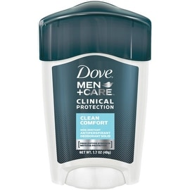 Dove Men + Care Clinical Protection Antiperspirant Deodorant Solid Clean Comfort 1.70 oz