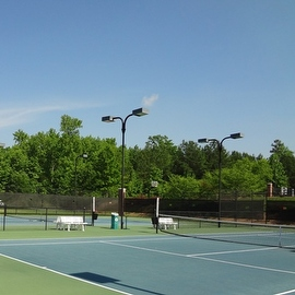 10' x 24' Tennis Court Wind Screen, Windscreen (MN-TM-B1024)