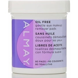Almay Eye Makeup Remover Pads Oil-Free (80 Each)