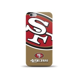 IPHONE 6 NFL OVERSIZED SNAP BACK TPU CASE SAN FRANCISCO 49ERS