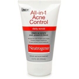 Neutrogena All-in-1 Acne Control Daily Scrub 4.20 oz