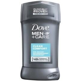 Dove Men + Care Antiperspirant Deodorant Stick Clean Comfort 2.70 oz