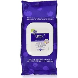 Yes to Blueberries Age Refresh Cleansing Facial Towelettes 25 ea