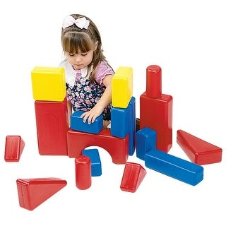 Plastic Hollow Blocks, 17 Pieces