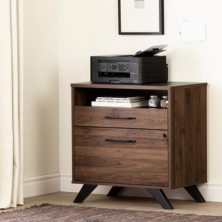 South Shore Helsy 2-Drawer File Cabinet
