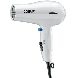 Conair 1875 Watt Hair Dryer, White 1 ea