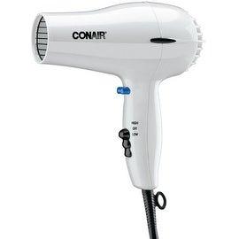 Conair 1875 Watt Hair Dryer, White 1 ea