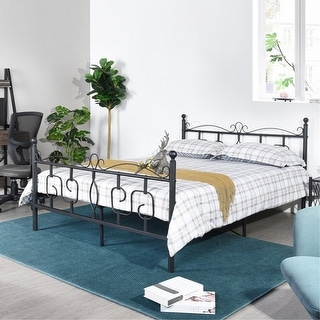 Furniture R Emberly Full Platform Bed
