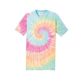Gravity Threads Mens Tie-Dye Short-Sleeve T-Shirt