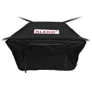 "ALEKO Waterproof Front Bow Storage Bag for 12.5' Boat 30"" x 19"" Black"