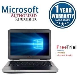 "Refurbished Dell Latitude E5430 14.0"" Laptop Intel Core i5 3320M 2.6G 4G DDR3 500G DVDRW Win 7 Pro 64 1 Year Warranty"