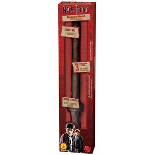 Rubies Deluxe Harry Potter Wand - Brown