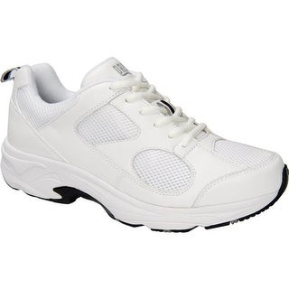 Drew Men's Lightning II White Leather/White Mesh
