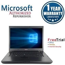 "Refurbished Dell Latitude E6500 15.4"" Laptop Intel Core 2 Duo P8600 2.4G 4G DDR2 160G DVD Win 7 Pro 64 1 Year Warranty"