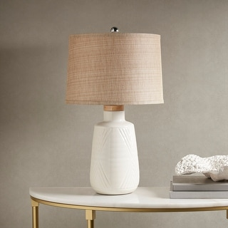 Tate Ivory Table Lamp by Hampton Hill