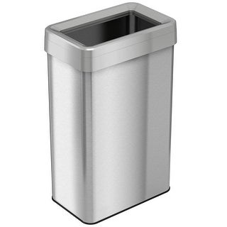 iTouchless 21 Gallon / 80 Liter Rectangular Open-Top Trash Can