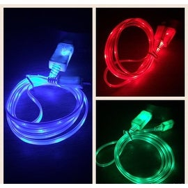 GLOW IN THE DARK Charger Cable - iPhone 5/5s/5c/6/6+