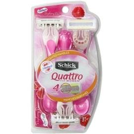 Schick Quattro for Women Disposable Razors 3 Each
