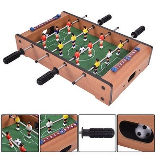 Costway 20'' Foosball Table Competition Game Soccer Arcade Sized
