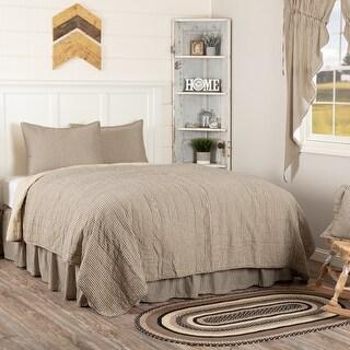 Sawyer Mill Ticking Stripe Quilt Set