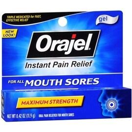 Orajel Mouth Sore Gel 0.42 oz